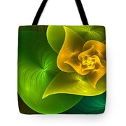 Stylized Philodendron Tote Bag