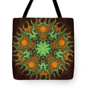Subatomic Neuron Tote Bag