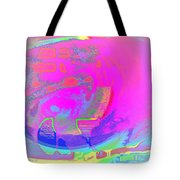 We All Live In A Pink Submarine Tote Bag