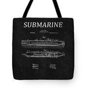 Submarine Patent 8 Tote Bag
