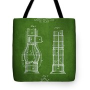 Submarine Telescope Patent From 1864 - Green Tote Bag