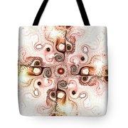 Subtle Cross Tote Bag by Anastasiya Malakhova