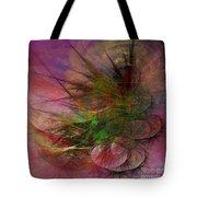 Subtle Echoes - Square Version Tote Bag