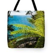 Subtropical Forest Of Abel Tasman Np In New Zealand Tote Bag