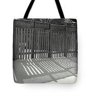 Suburban Winter Tote Bag