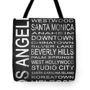 Subway Los Angeles 1 Tote Bag