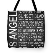 Subway Los Angeles 2 Tote Bag