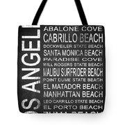 Subway Los Angeles 3 Tote Bag