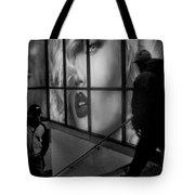 Subway Noir Tote Bag