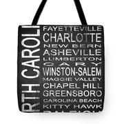 Subway North Carolina State 1 Tote Bag