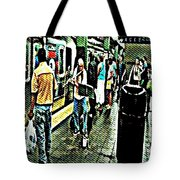 Subway Seranade Tote Bag