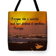 Successful Dreaming Tote Bag