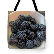 Succulent Blackberries  Tote Bag