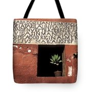 Succulent In Window Tote Bag