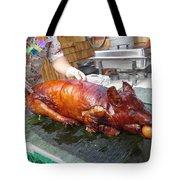 Succulent Pig Tote Bag