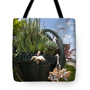 Succulents In A Planter Tote Bag