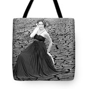 An Image Of Elegance Black And White Tote Bag