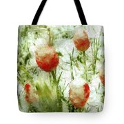 Suddenly Snow Tote Bag
