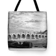 Suez Canal, 1894 Tote Bag