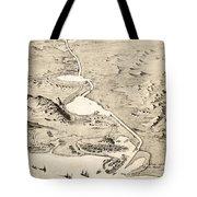 Suez Canal Tote Bag