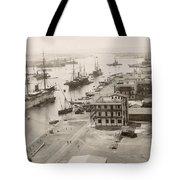 Suez Canal Port Said Tote Bag