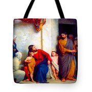 Suffer The Children Tote Bag
