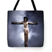 Suffering For Love Tote Bag