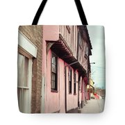 Suffolk Town Houses Tote Bag