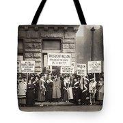 Suffrage Protest, 1916 Tote Bag