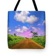 Sugar Cane Sunrise Tote Bag