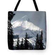 Sugar Icing Mountain Top Tote Bag