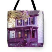 Sugar Plum Purple Victorian Home Tote Bag