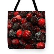 Sugared Cranberries Tote Bag