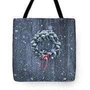 Sugarhouse At Christmas Tote Bag