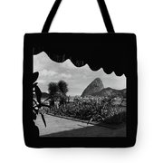 Sugarloaf Mountain Seen From The Patio At Carlos Tote Bag