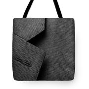 Suit Texture Tote Bag