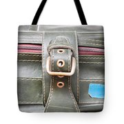 Suitcase Buckle Tote Bag