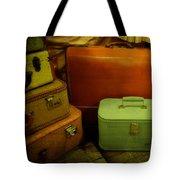Suitcases In The Attic Tote Bag