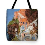 sul mare Greco Tote Bag by Guido Borelli