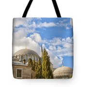 Suleiman Mosque 18 Tote Bag