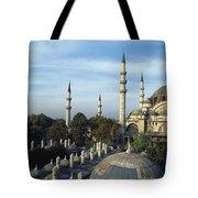 Suleymanhe Mosque, The Bizaar Quarter Tote Bag