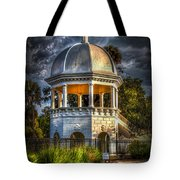 Sulfur Springs Gazebo Tote Bag