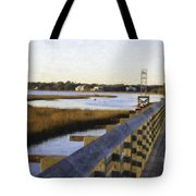 Sullivan's Island To Old Village Tote Bag