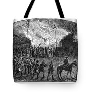 Sullivans March, 1779 Tote Bag