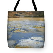Sulphur And Volcanic Earth Tote Bag