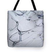 Sulphur Caldron Mud Art Yellowstone Tote Bag