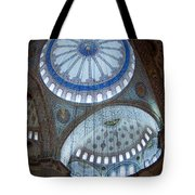Sultan Ahmed Camii Blue Mosque Istanbul Turkey Tote Bag