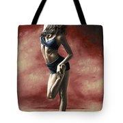 Sultry Dancer Tote Bag