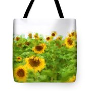 Sultry Sunflowers Tote Bag