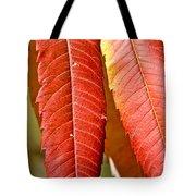 Sumac Leaves Tote Bag